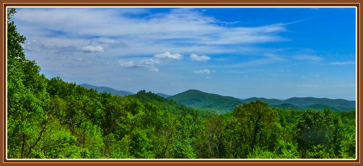 North Carolina Mountain View Cabin Rentals